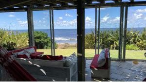 Stunning Oceanfront Villa located in La Barra, Punta del Este, Uruguay, listed by Curiocity Villas.
