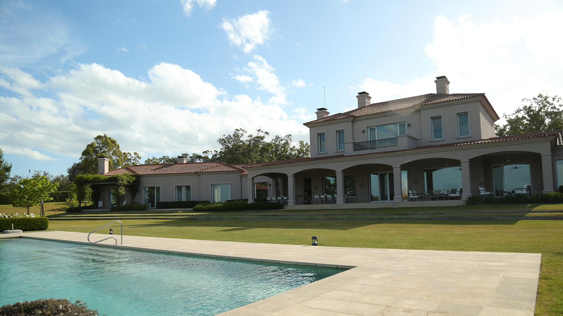 Exceptional Tuscan Style Villa located in Manantiales, Punta del Este, Uruguay, listed by Curiocity Villas.